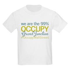 Occupy Grand Junction Kids Light T-Shirt