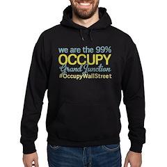 Occupy Grand Junction Hoodie (dark)