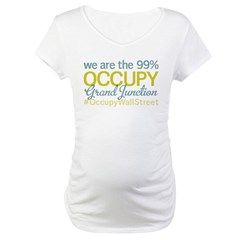 Occupy Grand Junction Maternity T-Shirt