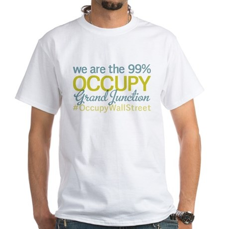 Occupy Grand Junction White T-Shirt