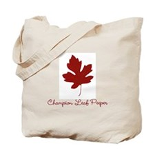 Champion Leaf Peeper Tote Bag