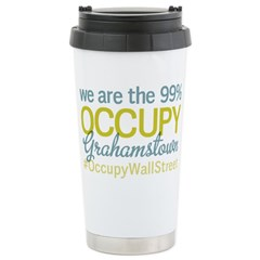 Occupy Grahamstown Stainless Steel Travel Mug