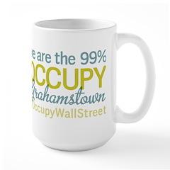 Occupy Grahamstown Large Mug