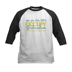 Occupy Grahamstown Kids Baseball Jersey