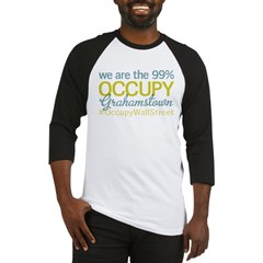 Occupy Grahamstown Baseball Jersey