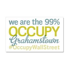 Occupy Grahamstown Car Magnet 20 x 12