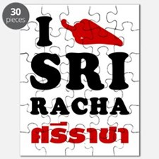 I Love Sriracha Puzzle