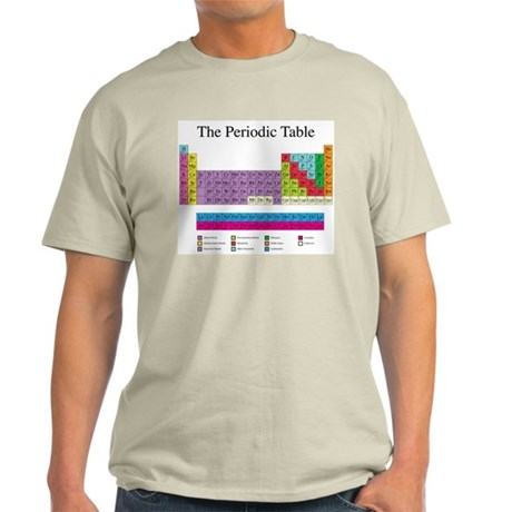 Periodic Table Light T-Shirt