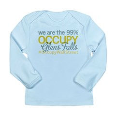 Occupy Glens Falls Long Sleeve Infant T-Shirt