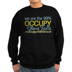 Occupy Glens Falls Sweatshirt (dark)