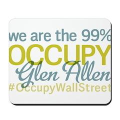 Occupy Glen Allen Mousepad