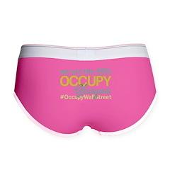 Occupy Glasgow Women's Boy Brief