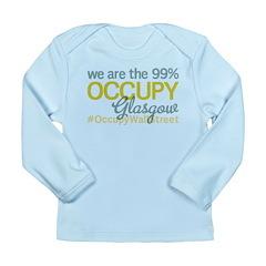 Occupy Glasgow Long Sleeve Infant T-Shirt