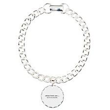 Jesus loves you ... Charm Bracelet, One Charm