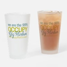Occupy Gig Harbor Drinking Glass