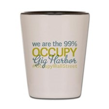 Occupy Gig Harbor Shot Glass