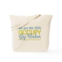 Occupy Gig Harbor Tote Bag