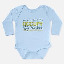 Occupy Gig Harbor Long Sleeve Infant Bodysuit