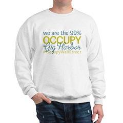 Occupy Gig Harbor Sweatshirt