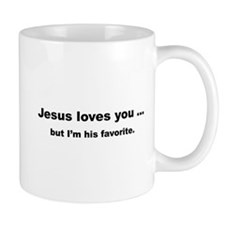 Jesus loves you ... Mug