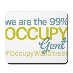 Occupy Gent Mousepad