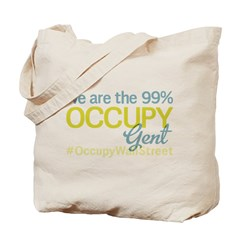 Occupy Gent Tote Bag