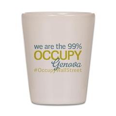 Occupy Genova Shot Glass