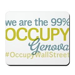 Occupy Genova Mousepad