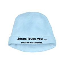 Jesus loves you ... baby hat