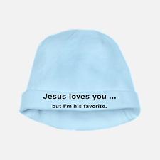 Jesus loves you ... baby hat