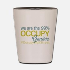 Occupy Geneve Shot Glass