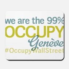 Occupy Geneve Mousepad