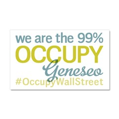 Occupy Geneseo Car Magnet 20 x 12