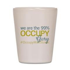Occupy Gary Shot Glass