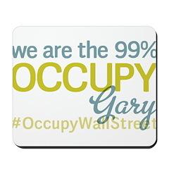 Occupy Gary Mousepad