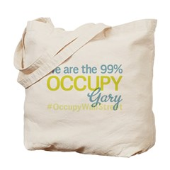 Occupy Gary Tote Bag