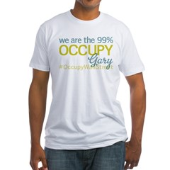 Occupy Gary Fitted T-Shirt