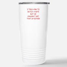 funny divorce joke Stainless Steel Travel Mug