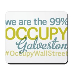 Occupy Galveston Mousepad