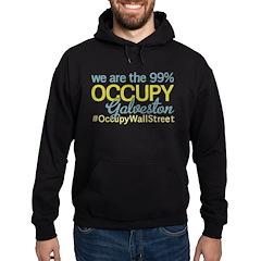 Occupy Galveston Hoodie (dark)