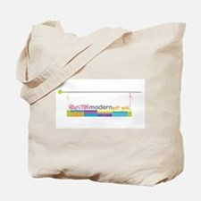 Cute Modern quilt guild Tote Bag