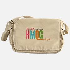 Cute Modern quilt guild Messenger Bag