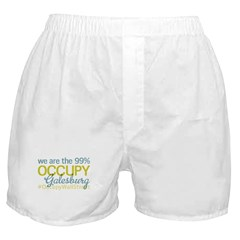 Occupy Galesburg Boxer Shorts