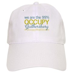 Occupy Gaithersburg Baseball Cap