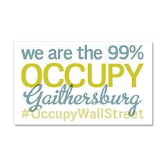 Occupy Gaithersburg Car Magnet 20 x 12