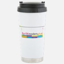 Cute Modern quilt guild Travel Mug