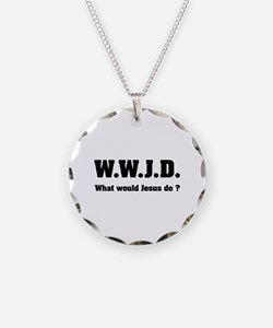 What would Jesus do ? Necklace