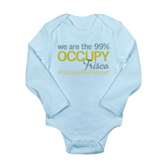 Occupy Frisco Long Sleeve Infant Bodysuit