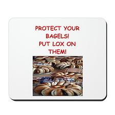 bagels and lox joke Mousepad