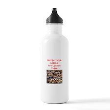 bagels and lox joke Water Bottle